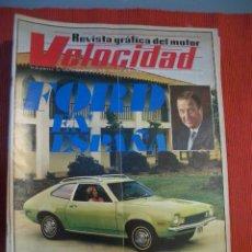 Coches: VELOCIDAD Nº 544 (12 FEBRERO 1972) FORD, PEGASO. Lote 26710994
