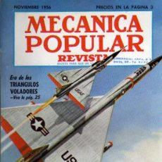 Coches: REVISTA MECANICA POPULAR EN CASTELLANO - NOVIEMBRE 1956. Lote 18696410