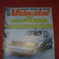 Coches: VELOCIDAD Nº 897 (18 NOVIEMBRE 1978) AUDI 100 GL, MERCEDES, PORSCHE 924 TURBO. Lote 27054562
