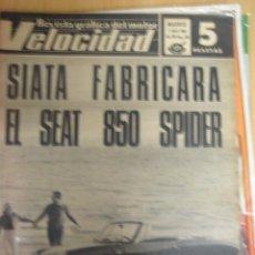 Autos - REVISTA VELOCIDAD NUMERO 290 1.4.1967. OSSA - 23091709