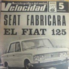 Autos - REVISTA VELOCIDAD NUMERO 298 27.5.1967... - 6655951