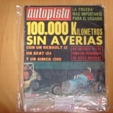 Coches: REVISTA AUTOPISTA NUMERO 620 FASCICULO 52 1970... Lote 6664386