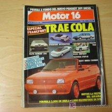 Coches: REVISTA MOTOR 16 NUMERO 204 19 9 1987. Lote 7623457