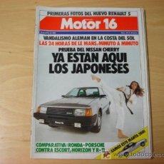 Coches: REVISTA MOTOR 16 NUMERO 35 23 06 1984. Lote 7623524