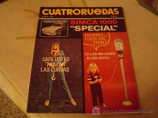 REVISTA CUATRORUEDAS (Coches y Motocicletas Antiguas y Clásicas - Revistas de Coches)