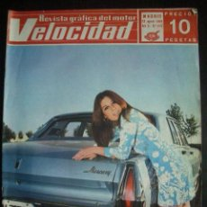 Coches: VELOCIDAD Nº 415 (23 AGOSTO 1969) WOLSELEY, MERCEDES C-11, BARREIROS. Lote 27008451