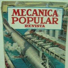 Coches: MECANICA POPULAR FEBRERO 1959. Lote 25964793