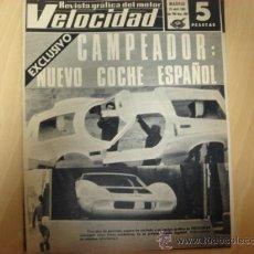 Autos - REVISTA VELOCIDAD NUMERO 292 15.4.1967 - 8056753