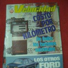 Coches: VELOCIDAD Nº 1110 (18 DICIEMBRE 1982) TALBOT HORIZON, FIAT UNO, AUDI, ALFA ROMEO. Lote 26629556