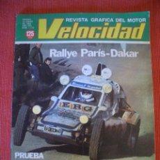 Coches: VELOCIDAD Nº 1113 (15 ENERO 1983) CITROEN VISA GT, FORD ESCORT XR3I, MERCEDES. Lote 26629553
