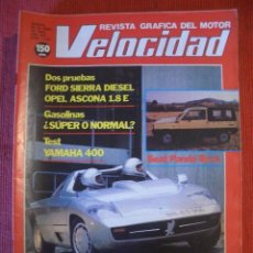 Coches: VELOCIDAD Nº 1126 (23 ABRIL 1983) OPEL ASCONA, FORD SIERRA, MERCEDES, BMW, ISDERA. Lote 26690292