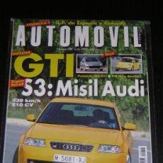 Coches: AUTOMOVIL Nº 258 - JULIO 1999 - PEUGEOT 206 GTI / VW NEW BEETLE / AUDI S3 / HONDA S 2000 / LANCIA . Lote 95152308