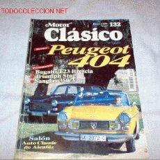 Coches: REVISTA MOTOR CLASICO Nº 132 DE ENERO DE 1999. Lote 27295858