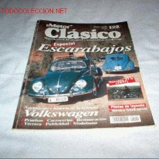 Coches: REVISTA MOTOR CLÁSICO Nº 122 DE MARZO DE 1998. Lote 27283097