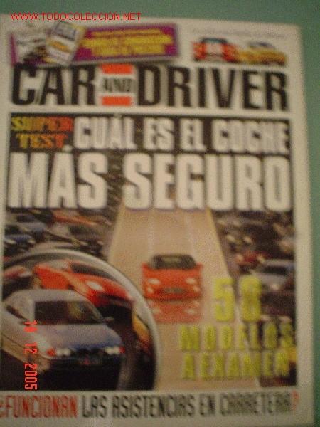 CAR AND DRIVER Nº7 (04-96) (Coches y Motocicletas Antiguas y Clásicas - Revistas de Coches)