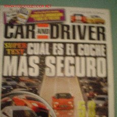 Coches: CAR AND DRIVER Nº7 (04-96). Lote 2093871