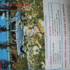 Coches: REVISTA PRUEBA TECNICA SIMCA 1200. Lote 25389052