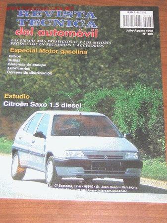 revista tecnica del automovil manual taller comprar revistas rh todocoleccion net manual de taller citroen saxo 1.5d manuel reparation citroen saxo