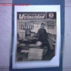 Coches: REVISTA VELOCIDAD Nº 241(CITROEN,AUTOMOVILES VETERANOS EN MONTJUICH,ENRIQUE LANDA UGARTE). Lote 25984744