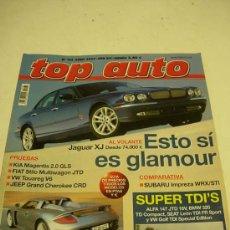 Coches: TOP AUTO 2003: VW TOUAREG; SUBARU IMPREZA WRX; SEAT LEON TDI FR; GOLF GTI, ETC.... Lote 11131181