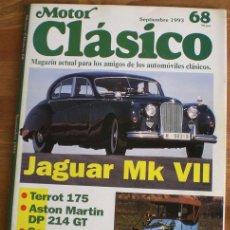 Coches: MOTOR CLÁSICO Nº 68. SEPTIEMBRE DE 1993. PRUEBA: JAGUAR MK VII. PRUEBA: TERROT 175.. Lote 15179853