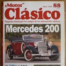 Coches: MOTOR CLÁSICO Nº 88. MAYO DE 1995. PRUEBA: MERCEDES 200. PRUEBA: JAGUAR 3.8 S.. Lote 15151408
