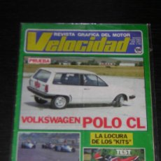 Coches: VELOCIDAD - Nº 1193 - AGO 1984 - VOLKSWAGEN POLO C / HONDA VF 750 F . Lote 13083443