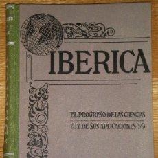Coches: IBÉRICA. REVISTA QUINCENAL ILUSTRADA. 1949.. Lote 26832680
