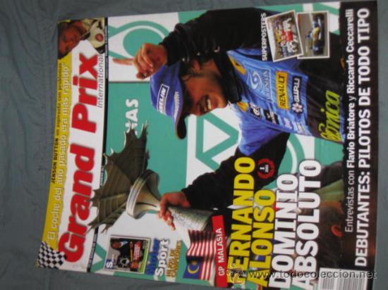 QUEX - COCHES - AUTOMOVIL - AUTOMOVILISMO - FORMULA 1 - GAND PRIX INTERNACIONAL Nº 26 (Coches y Motocicletas Antiguas y Clásicas - Revistas de Coches)