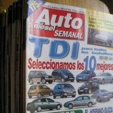 Carros: REVISTA AUTO Y DIESEL SEMANAL - AÑO 2000 A 2004 - VER NUMEROS. Lote 108763439