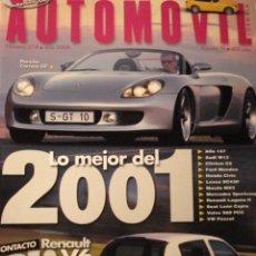 Coches: REVISTA AUTOMOVIL - NUM 274 PORSCHE CARRERA GT RENAULT CLIO V6. Lote 16297346