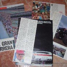 Coches: REPORTAJE SOBRE LAS 500 MILLAS DE INDIANÁPOLIS. 1991. 8 PÁGINAS. RECORTE DE PRENSA.. Lote 19004982