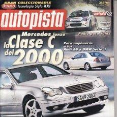 Coches: REVITA AUTOPISTA Nº 2123 AÑO 2000. PRUEBA: NISSAN PATHFINDER SE 3.3 V6. COMP: VW PASSAT TDI V6 Y. Lote 26121477
