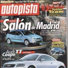 Coches - REVISTA AUTOPISTA Nº 2027 AÑO 1998. PRUEBA: PORSCHE 911 TURBO POWERKIT. FIAT SEICENTO SPORTING. - 26145731