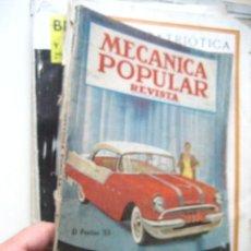 Coches: MECANICA POPULAR 1955 / REVISTA ( CJ2) . Lote 19671252