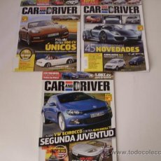 Coches: LOTE 3 REVISTAS CAR AND DRIVER N:170,175,158. Lote 23331850