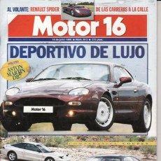 Coches: REVISTA MOTOR 16 Nº 613 AÑO 1995. PRUEBA: LANCIA Z. ASTON MARTIN DB7. COMP: ALFA ROMERO GT V 2.0 TS. Lote 109388280