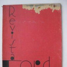 Coches: PRECIOSA REVISTA FORD, Nº 33, FEBRERO DE 1935. Lote 25193764