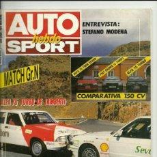 Carros: AUTO HEBDO SPORT Nº 136. 17 OCTUBRE 1987. Lote 21247426