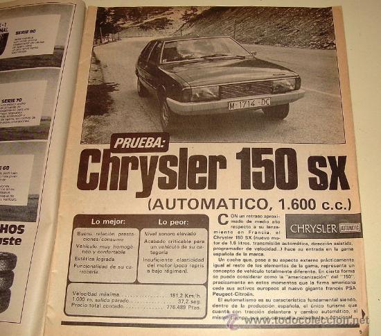 Coches: Velocidad 927 de 1979 - Foto 2 - 26409940
