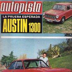 Revista AUTOPISTA nº 638. 18 Mayo 1971 / PRUEBA AUSTIN 1300 / SEAT EN PORTADA