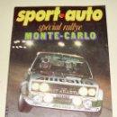 Coches: SPORT AUTO ( FRANCES ) Nº 216 ENERO 1960 SPECIAL MONTECARLO. Lote 26377758