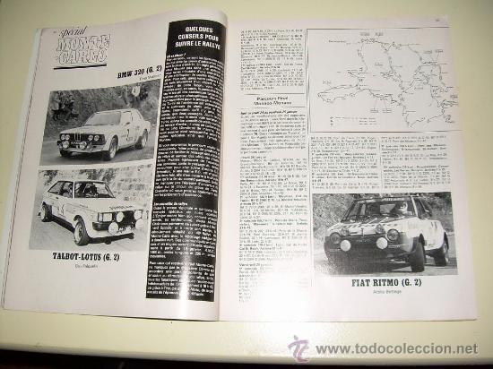 Coches: Sport Auto ( Frances ) nº 216 enero 1960 Special Montecarlo - Foto 2 - 26377758