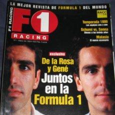 Coches: QUEX - COCHES - AUTOMOVIL - AUTOMOVILISMO , FORMULA 1 - REVISTA F 1 RACING Nº 1. Lote 26984025