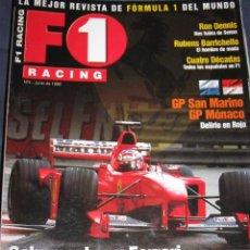 Coches: QUEX - COCHES - AUTOMOVIL - AUTOMOVILISMO , FORMULA 1 - REVISTA F 1 RACING Nº 4. Lote 53780129