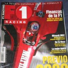 Coches: QUEX - COCHES - AUTOMOVIL - AUTOMOVILISMO , FORMULA 1 - REVISTA F 1 RACING Nº 13. Lote 26984008