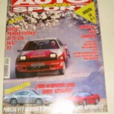 Coches: AUTO HEBDO SPORT Nº 355 FEBRERO 1991. Lote 27049323