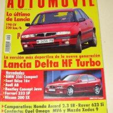 Coches: AUTOMOVIL 195 ABRIL 1994. Lote 25820476