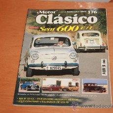 Coches: MOTOR CLASICO 176, SEPTIEMBRE 2002, SEAT 600 E/L. Lote 22787195