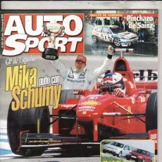 Coches: REVISTA AUTO HEBDO SPORT Nº 664 AÑO 1998. COMPARATIVA: SEAT IBIZA GT TDI Y VOLKSWAGEN GOLF TDI.. Lote 23144235